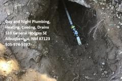 Water Line Repair Albuquerque NM - Sewer Line Repair Albuquerque NM -  Call Day and Night Plumbing 505-974-5797
